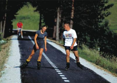 Kranjska Gora - Rolanje